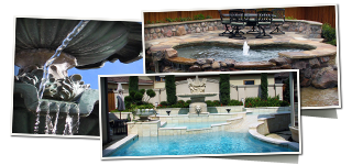 Pools, Fountains & Ponds by Land Pro Creations